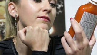 Incredible German joi clip with dildo