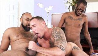 Blacks On Boys - August Alexander, Kirk Cummings & Ray Diesel