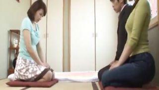Hot Japanese stepmom getting fucked hard