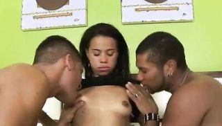 Bisexuals Alessandra Marcelo And Gabriel Oral Threesome