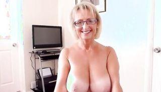 British big natural tits mature woman gives hot blowjob
