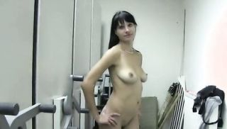 Natural Czech dark haired amateur fucked in public