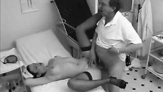 Slutty nurse sucking and fucking her patient!