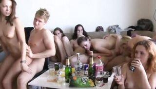 Secret College Orgy