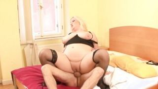 Obese plumper FUCKING and cock sucking