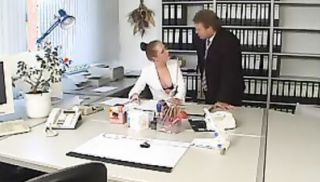 German milfs in these hardcore office sex scenes