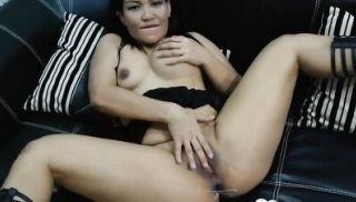 Desirable Asian gives a blowjob in POV