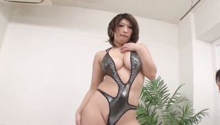 Japanese hottie with big tits gets groped and fingered
