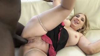 Chubby Cougar BBW Fucked by Black Guy in Hardcore Interracial Anal Sex