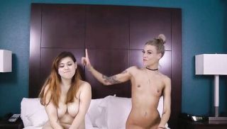 LOSTBETSGAMES - Skinny Blonde Takes on A Chubby Brunette Loser