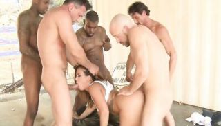 Super sexy Keisha gets ready for her gangbang