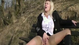 German Milf Marina Montana with pierced pussy