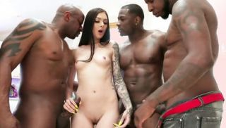 Jules Jordan - Marley Brinx Interracial Gangbang