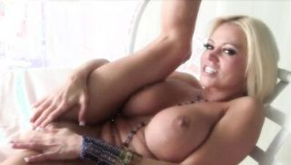 Nikita Von James uses a glass toy on her tight pussy