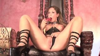 Leather Boots, Gothic Chairs And A Big Pink Dildo