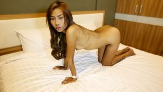 Curious Thai babe with firm small tits and incredible pussy hole challen...