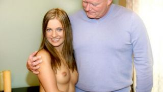 She loves an old pervert\'s big cock and experience2