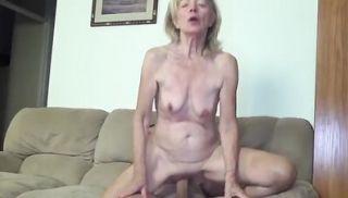 ugly 82 years old grandma needs hard