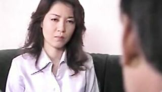 Japanese busty mom blows and fucks