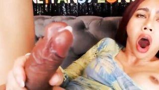 Huge Shafted Ladyboy LongMint on Webcam Part 2