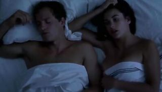 Demi Moore is topless, implied oral sex both giving and receiving from Wood