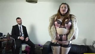 Fat British subslut pussy disciplined by big hard cock