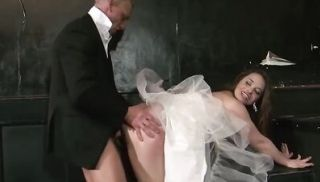 Dirty bride gets the pounding of a lifetime