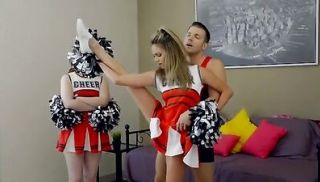 Perky cheerleader Ms Faris lets her stepbrother seduce her into a creamp...