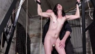 Amateur bondage and sex toys domination of milf slave Lolani tied up
