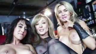 Fantastic lesbian threesome with Gigi, Penelope, & Nina