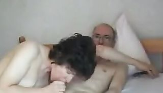 Grandpas Big Cock Attractive Mature Swallows it