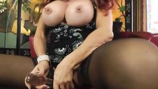 Sexy Vanessa Big Tits Hanging in Black Dress